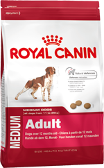 Сухой корм Royal Canin MEDIUM ADULT - 4 кг