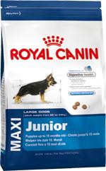 Сухой корм Royal Canin MAXI JUNIOR - 4 кг, для щенков