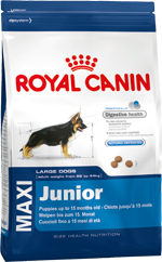 Сухой корм Royal Canin MAXI JUNIOR - 15 кг