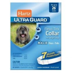 Ошейник Hartz инсектоакарицидный для собак крупных пород 2 в 1 от блох и клещей,