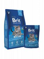 Сухой корм Брит Premium Cat Kitten 1,5 кг
