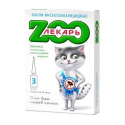 Биокапли В НАЛИЧИИ ЭкоЗоолекарь на холку антипаразитарные для кошек, 1 пип