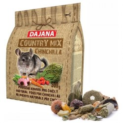 Корм В НАЛИЧИИ Dajana country mix Chinchilla для шиншилл, 500г