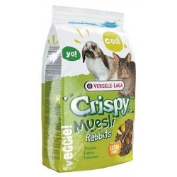 Корм В НАЛИЧИИ Versele Laga Crispy Muesli Rabbits, 1 кг