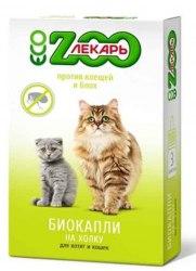 Биокапли В НАЛИЧИИ ЭкоЗоолекарь для кошек, 1шт