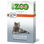 Биоошейник В НАЛИЧИИ ЭкоЗоолекарь зеленый, для кошек и мелких собак, 35 см