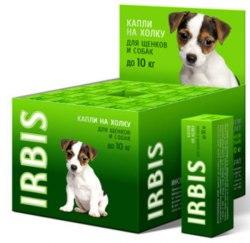 Биокапли В НАЛИЧИИ Ирбис Фортэ, 1 фл для щенков и собак мелких пород, 1шт