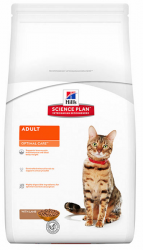 Сухой корм Hill's Science Plan Optimal Care сухой корм для кошек с ягненком 400г