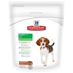 Сухой корм Hill's Science Plan Healthy Development сухой корм для щенков средних пород ягненок с рисом 1 кг