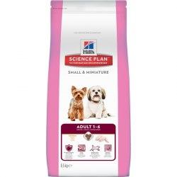 Сухой корм Hill's Science Plan Small & Miniature сухой корм для собак мелких и миниатюрных пород с курицей 1,5 кг
