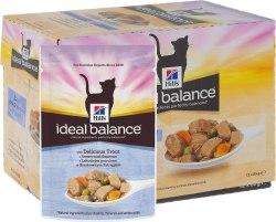 Влажный корм Hill's Ideal Balance в ассортименте 12шт/85 г