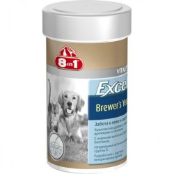 Добавка 8 in 1 Excel Brewer's Yeast 780 таб (1 таб на 4 кг).