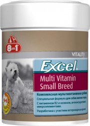 Добавка 8 in 1 Exsel Multi VitaminSmallBreed (1 таб до 10 кг)