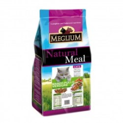Сухой корм MEGLIUM Adult Chicken Beef and Vegetables 1,5 кг