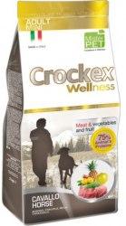 Сухой корм В НАЛИЧИИ CROCKEX WELLNES MINI DOG Adult Horse & Rice 2 кг
