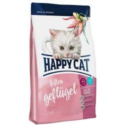 Сухой корм Happy Cat Kitten (Птица) 4 кг