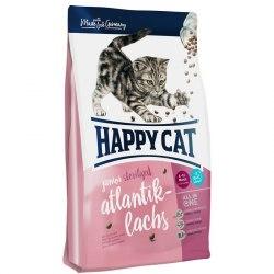 Сухой корм Happy Cat Junior Sterilised (Лосось) 10 кг