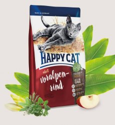 Сухой корм Happy Cat Happy Cat Supreme Adult (Баварская говядина) 4 кг