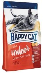 Сухой корм Happy Cat Adult Indoor (Баварская говядина) 4 кг