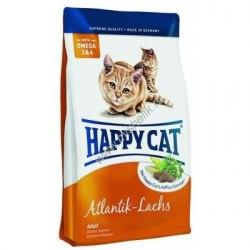 Сухой корм Happy Cat Adult Indoor (Атлантический лосось) 4 кг