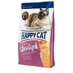 Сухой корм Happy Cat Sterilised Atlantik-Lachs (лосось) 1,4 кг