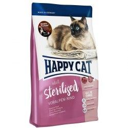 Сухой корм Happy Cat Sterilised Voralpen-Rind (говядина) 10 кг