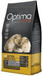 Сухой корм Optimanova CAT KITTEN CHICKEN & RICE 8 кг