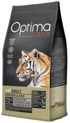 Сухой корм Optimanova CAT ADULT CHICKEN & RICE 8 кг