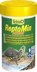 Корм Tetra ReptoMin Junior 100ml- Основной полноценный корм д/водных черепах в виде палочек