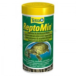 Корм Tetra Tetra ReptoMin. Основной полноценный корм д/водных черепах в виде палочек