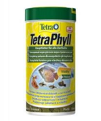 Корм Tetra Phyll Flakes 100 ml- Корм для всех травоядных рыб в виде хлопьев с жизненноважными балластовыми веществами
