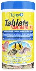 Корм Tetra Tablets TabiMin XL 133Tb/ Полноценный корм для крупных донных рыб
