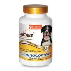 Витамины Unitabs ImmunoComplex с Q10 для крупных собак