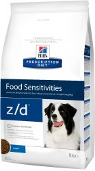 Сухой корм Hill's Prescription Diet z/d Food Sensitivities для собак 10 кг