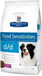Сухой корм Hill's Prescription Diet d/d Food Sensitivities для собак с уткой и рисом 12 кг