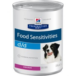 Влажный корм Hill's Prescription Diet d/d Food Sensitivities с уткой 370 г