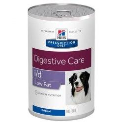Влажный корм Hill's Prescription Diet i/d Low Fat Digestive Care для собак, с курицей 360 г