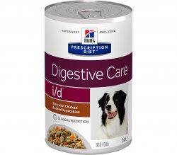 Влажный корм Hill's Prescription Diet i/d Рагу, с курицей и добавлением овощей для собак 354 г