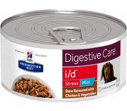 Влажный корм Hill's Prescription Diet i/d Stress Mini Рагу, с курицей и добавлением овощей для собак 156 г