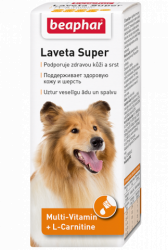 Кормовая добавка Beaphar Laveta Super Hu для собак, 50мл