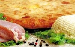 Мясо и Осетинский сыр