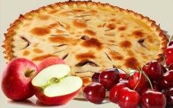 Яблоко и вишня