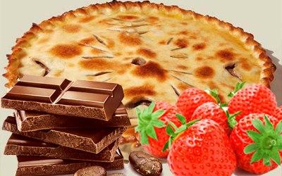Клубника и шоколад