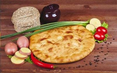 Картошка и зеленый лук