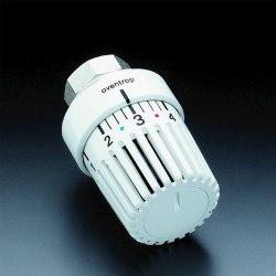 """Термостат """"Uni LH"""" Oventrop 7-28 C, 0 * жидким чувствительным элементом, белый"""