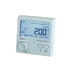Комнатный контроллер Oventrop R-Tronic TFC с наружным блоком питания и настольной подставкой