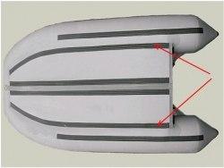 Усиление по стрингерам 60мм 380-400