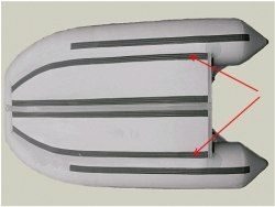 Усиление по стрингерам 90мм 380-400