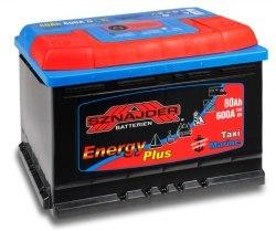 Аккумулятор лодочный тяговый Sznajder 80Ah R
