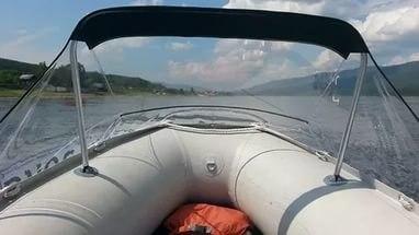 тент носовой на лодку солар 330